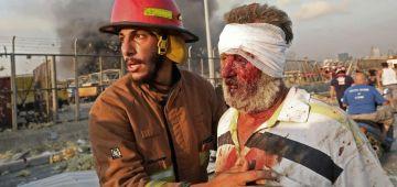 حصيلة انفجار بيروت طلعات بزاف: ماتو 100 وتجرحو كثر من 4000 والبحث باقي مستمر عن الضحايا