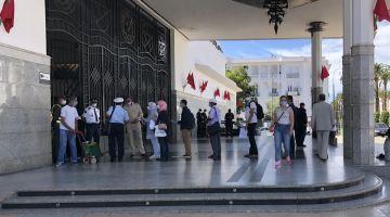 """مصدر  لـ""""كود"""": الحزم مع المسافرين للي غادين وجايين من المدن 8.. وضروري من الرخصة باسثتناء الصحافيين"""