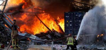 """بالفيديو. ها حقيقة """"الصاروخ"""" اللي ضرب مرفأ بيروت قبل الانفجار"""