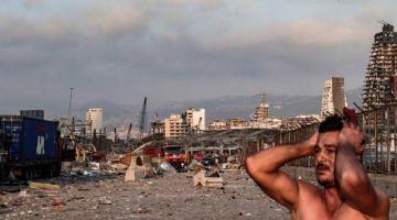 بالصور.. الدمار فبيروت بعد الانفجار : قتلى وجرحى وحزن عالمي على عاصمة الحريات والفنون