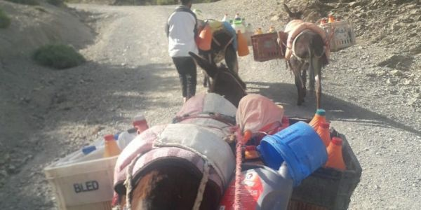 بالصور. أزمة الماء: دواوير بويلان بتازة كاتستعد للاحتجاج بسبب الوعود ديال بلعاني