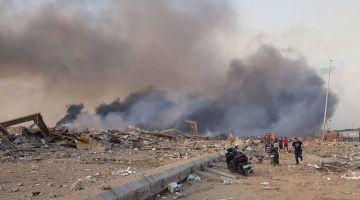 انفجار بيروت: خمسة أسئلة للعالم المغربي رشيد اليزمي