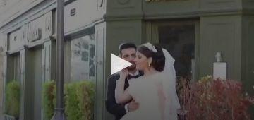 بالفيديو. انفجار بيروت غفل عريس وعروسة وفسد فرحتهم