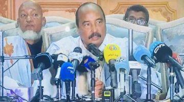 الرئيس الموريتاني الأسبق مازال مانعينو من مغادرة انواكشوط حتى يسالي التحقيق