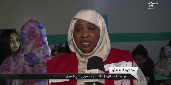وفاة رائدة العمل الإنساني فالصحرا مديرة مكتب الهلال الأحمر فالعيون