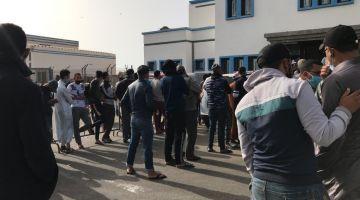 مختبر جديد لكورونا فميناء العيون و1500 عينة غادي تخاد فالنهار