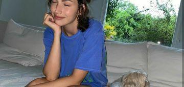 داروها الحجر الصحي وكورونا.. أورسولا كوربيرو حتافلت بعيد ميلادها الـ31 مع كلبها -تصاور