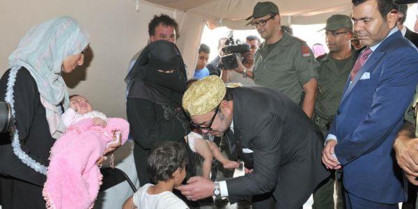 الصبيطار الميداني المغربي فمخيم الزعتري بالاردن سالا مهمتو. دار مليون و44 ألف فحص طبي
