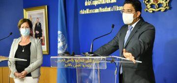 الممثلة الخاصة للأمم المتحدة فليبيا: زيارتي للمغرب كانت جيدة جدا وكندعم جهودو فالملف وعلى تواصل معاه