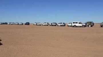 التجار الصحراويين: تهديدات البوليساريو بإغلاق معبر الكركرات مقصودة وماشي عفوية وخاص عدم التساهل