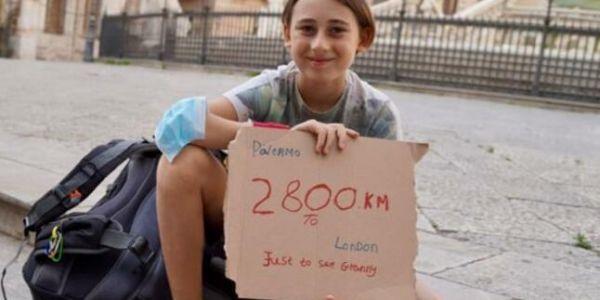 الحب فزمان كورونا.. دري عندو 10 سنين ضرب 2800 كيلومتر على رجليه باش يشوف جداه