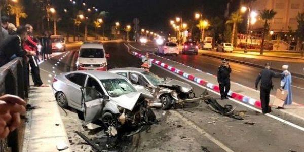 فسيمانة: 22 ماتو فحوادث سير و1920 تصابو بجروح و81 عندهوم إصابات بليغة