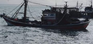 قوارب صيد عتقات طاقم مركب لصيد السردين من الموت فسواحل بوجدور