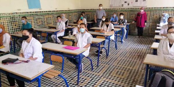 حوالي 22 ألف مدرسة فالمدينة والعروبية بدات القراية حضوريا و2077 مؤسسة مغلقة اعتمدت التعليم عن بعد