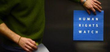 """""""هيومن رايتس ووتش"""" كلاشات عسكر الجزائر.. إذاعتهم نشرات التقرير ديال المغرب و المنظمة فكراتهم بلّي تقرير دولة العسكر حتى هو كاين ولكن الدزاير ضاربة عليه الطّم – تغريدة"""