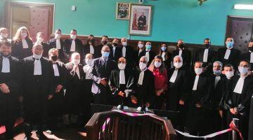 فوج جديد من المحامين أدّاو القسم اليوم فمحكمة الاستئناف ديال فاس