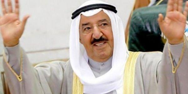 أمير الكويت صباح الأحمد الجابر الصباح مات