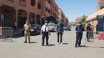 إنزال أمني كبير وإيقافات مع المنع ديال الاحتجاج ضد إجبارية الباس فاكسينال فـ مراكش