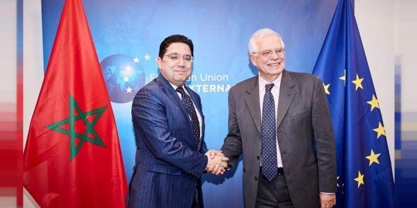 بوريل وبوريطة بحثو علاقات الاتحاد الأوروبي والمغرب والملف الليبي فالتيليفون
