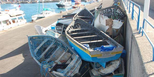65 حراكَ وصلو لكناريا فثلاثة قوارب والبحث جاري على فلوكة رابعة