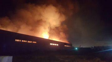 انفجارات هاد الصباح فالمنطقة الصناعية عين السبع بسباب هاد العافية