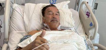 أرنولد شوارزنيكَر دار عملية جراحية جديدة على القلب وقال أن صحتو بيخير