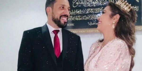 بعد قصة حب كبيرة.. محسن المالزي وحبيبتو خلود تزوجو – تصاور وفديوهات
