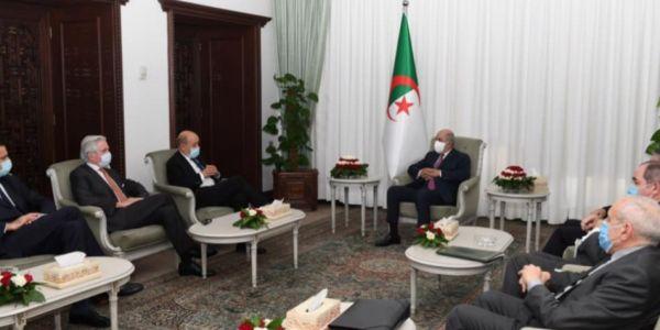 الرئيس الجزائري تلاقى وزير خارجية فرنسا والصحراء وليبيا والساحل فالبروكَرام