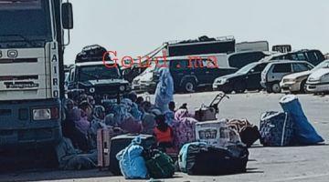 بعدما سدات البوليساريو طريق الكركرات.. 119 شخص أغلبيتهم من موريتانيا باتوا فالخلى -تصاور