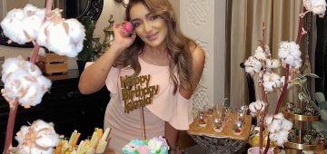 جميلة البدوي احتفلات بعيد ميلادها بستيل جديد بعدما ضعافت – تصاور