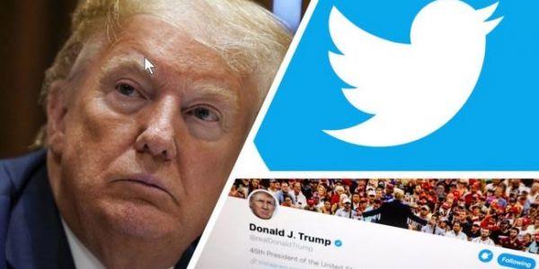 من بعد الهجوم على الكابيطول.. تويتر بلوكا حساب ترامب فخطرة