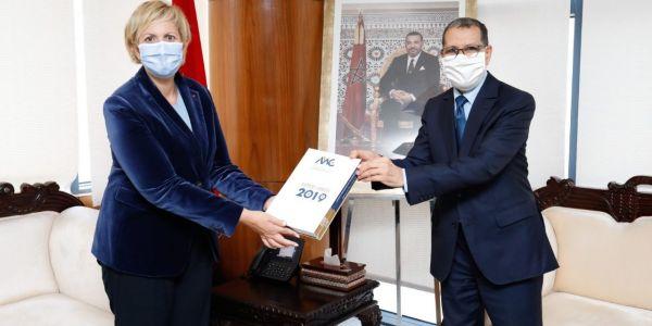 التقرير السنوي للهيئة المغربية لسوق الرساميل تحط عند الحكومة