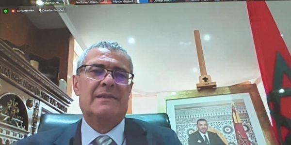 بنعبد القادر أمام قادة العدالة فالعالم: التدابير الاحترازية اللّي دار المغرب مكنات من ضمان استمرار المرافق العمومية