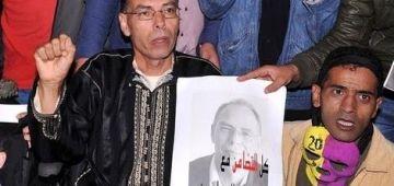 بسباب الحكم عليه غيابيا واعتقالو التعسفي والتشهير بيه.. المعطي منجب دخل داير إضراب على الماكلة
