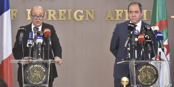 وزير خارجية فرنسا غادي للجزائر: الصحرا والوضع فالساحل والأزمة الليبية على طاولة لقاءات مع الرئيس والوزير الأول