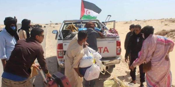 تنسيق موريتاني مع البوليساريو باش يدوزو العالقين الموريتانيين من الكَركَرات