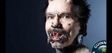 """دار 516 عملية جراحية.. الألماني رولف """"الرجل الشيطان"""" دخل لموسوعة گينيس للأرقام القياسية -فيديو"""