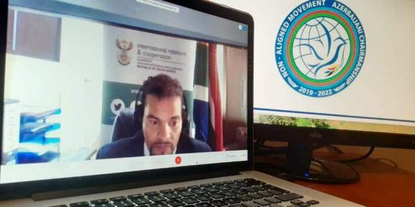جنوب أفريقيا بغات حركة عدم الإنحياز دعم البوليساريو