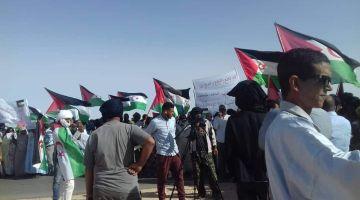 مناصرين ديال البوليساريو احتجو على مفوضية شؤون اللاجئين فالرابوني