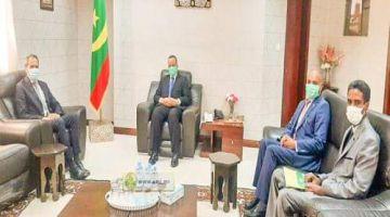 أزمة الكركرات.. سفير المغرب ووزير الخارجية الموريتاني تناقشوا فنواكشوط