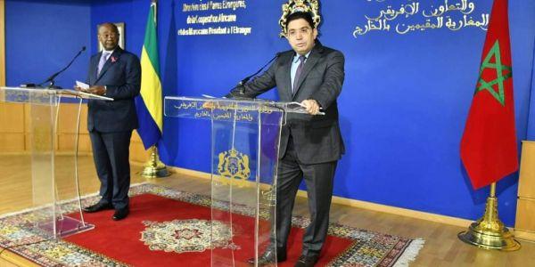 وزير الخارجية الغابوني جا للعيون وغايدير زيارة لقنصلية بلادو فالصحرا