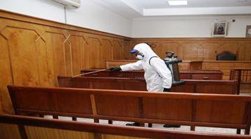 """عدد الإصابات بـ""""كورونا"""" فالمحاكم المغربية وصلات لـ691 إصابة و6 ماتو بالفيروس"""
