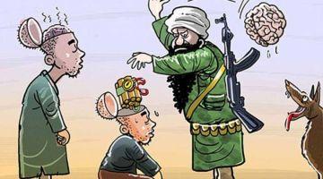 """اي واحد كايقول ديك الجملة ديال """" ايه ولكن ماكانش عليه يرسم الرسول"""" راه ارهابي متخفي ماكاين ما ولكن! تبرير العمل الارهابي مايمكن يصدر غي من الارهابيين!"""