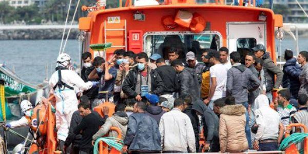 375 حراك فيهم مغاربة وصلو لجزر الكناري فنهار واحد وحراك واحد مات