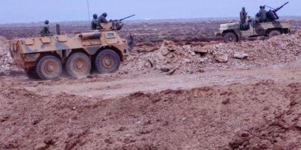 جيشنا ما متساهلش مع استفزازات البوليساريو. رد عليها ودمر عربة لنقل الأسلحة