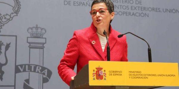 وزيرة خارجية اسبانيا ردات على زعيم بوديموس: موقف مدريد من الصحرا راه اختصاص الخارجية