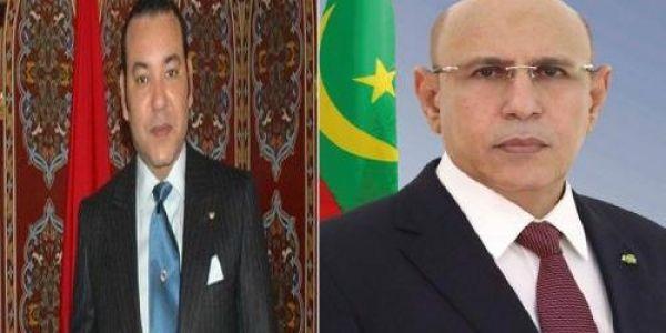 رئيس موريتانيا للملك محمد السادس: حريصين على التعاون معاكم