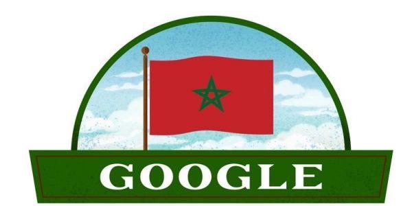 گوگل مشارك المغاربة احتفالاتهم بالذكرى 65 لعيد للاستقلال