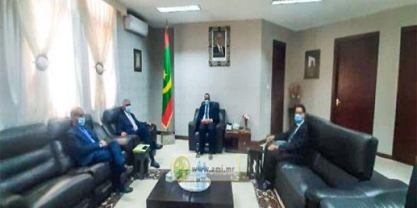 وزير خارجية موريتانيا استقبل مسؤول فالبوليساريو.. وموريتانيا محافظة على مصالحها فالكَركَرات