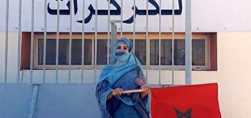 بعد عملية المغرب فالكركارات.. سعيدة شرف زارت المعبر الحدودي – تصاور